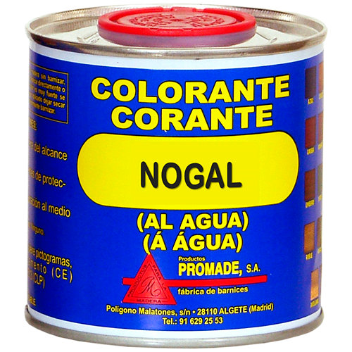Colorante al agua nogal 0,375l