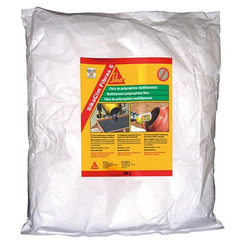Fibras hormigones y morteros sika sikacim fibras-6 150 gr