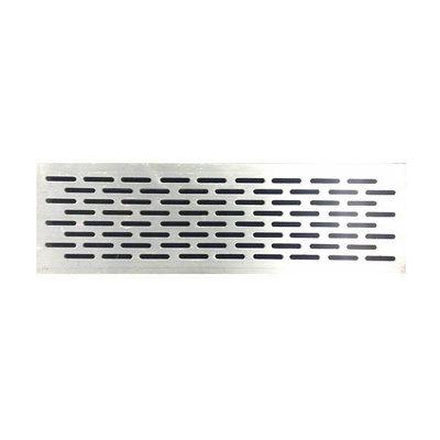sourcing map 150 mm x 50 mm cubierta de rejilla con rejilla de ventilaci/ón de aire de aleaci/ón de aluminio 4 piezas rejilla de ventilaci/ón