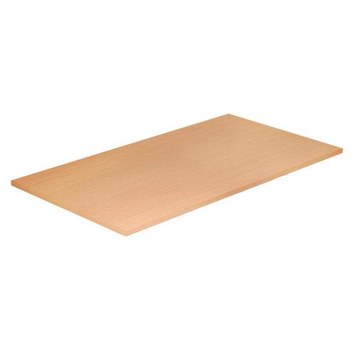 Tapa de mesa aglomerado maple/roble de 80x150x2,5cm (anchoxaltoxgrosor)