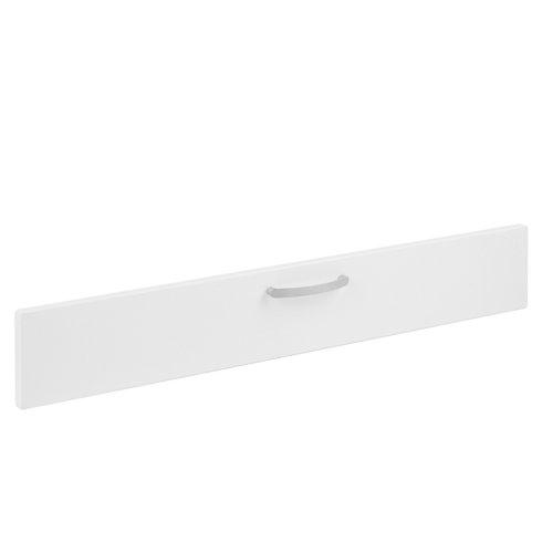 Frente módulo cocina delinia toscane blanco 90x14 cm