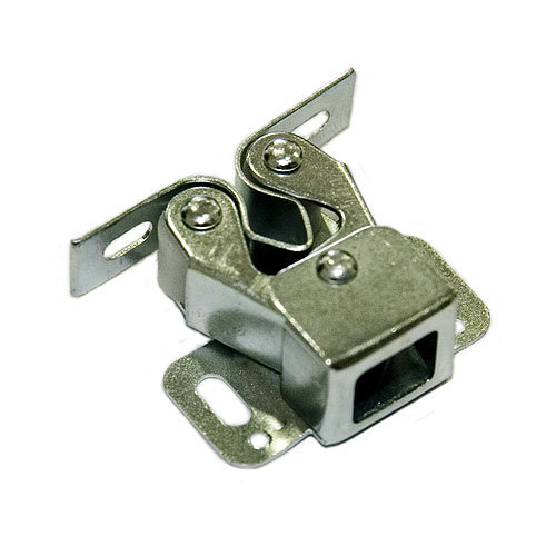 4 golpete a presión de hierro de 31x12 mm y color gris