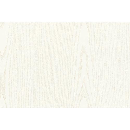 Mini rollo de papel adhesivo madera blanca 90x210 cm
