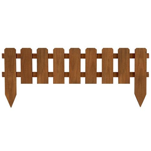 Bordura para plantar de madera 28x110 cm