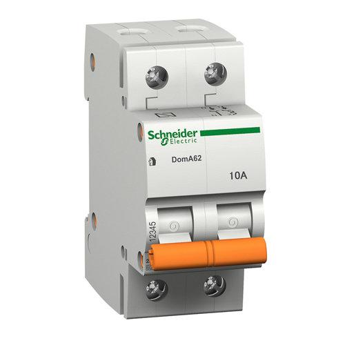 Interruptor magnetotérmico schneider electric bipolar 10a