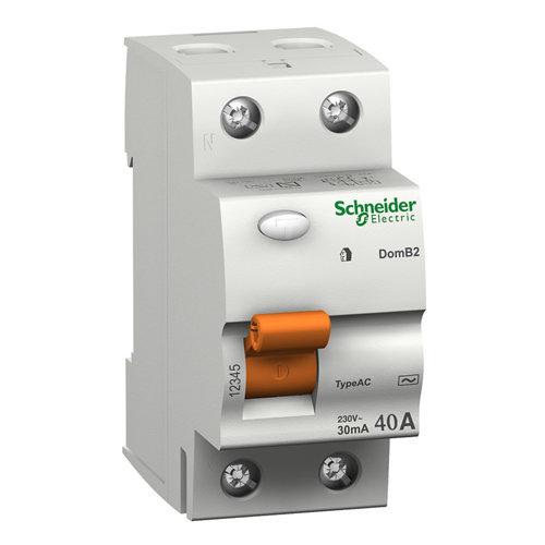 Diferencial bipolar schneider electric 40a