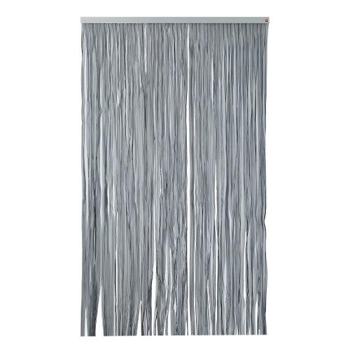 Cortina de puerta negro de 120 x 210 cm