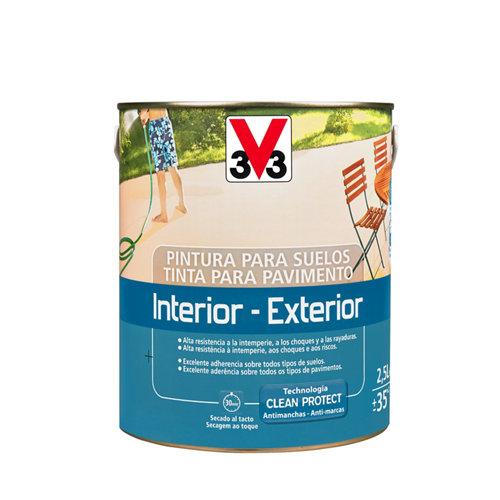 Pintura para suelos v33 verde 2,5l