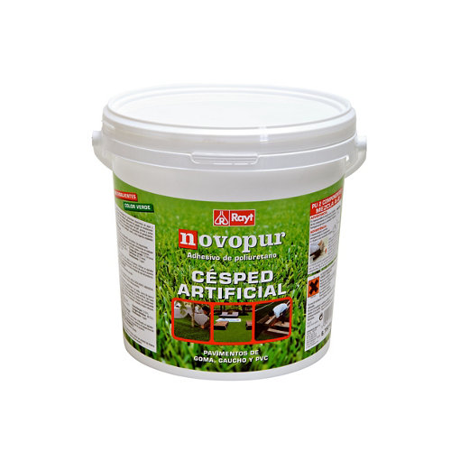 Cola verde para montaje de césped artificial novapur 6.75 kg