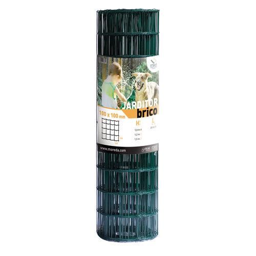 Malla metálica electrosoldada de acero galvanizado 1x20m
