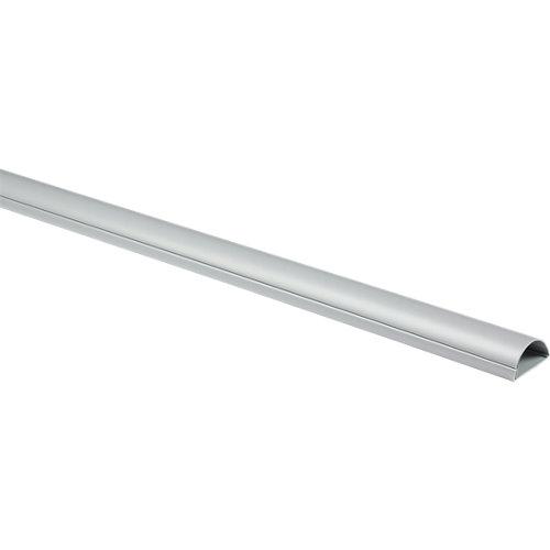 Salvacable adhesivo plata de 50 mm 1m