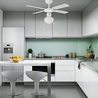 Ventilador de techo con luz Inspire Barbade Ref. 13831454