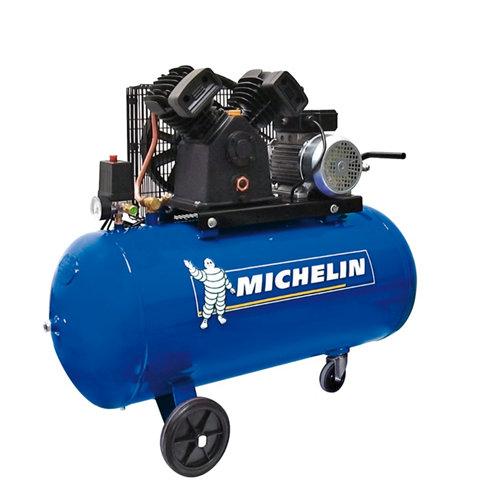 Compresor correas michelin ca-vcx100 de 3 cv y 100l de depósito