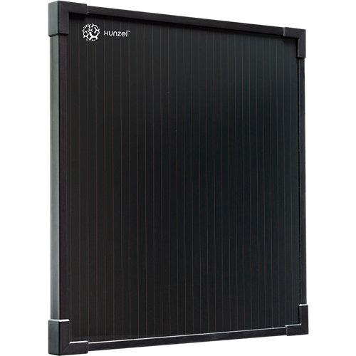 Panel solar fotovoltaico solarthin-xunzel-7w de silicio amorfo con accesorios