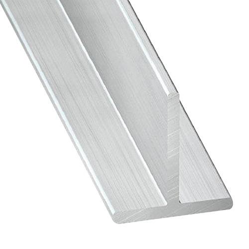 Perfil forma t de aluminio en bruto en bruto
