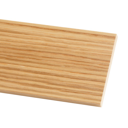 Tapeta de mdf roble barnizado 90x10 mm x 2,20 m (ancho x grueso x largo)