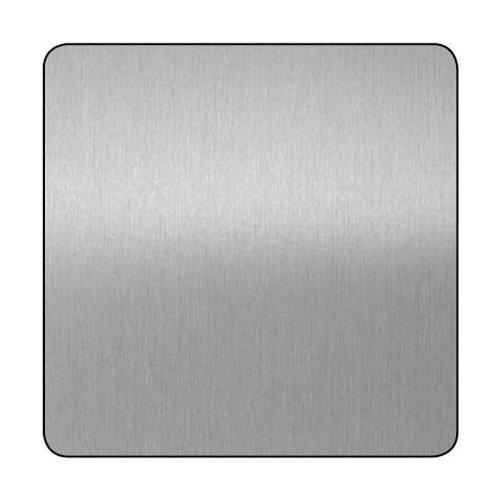 Chapa metálica de aluminio de 50x100 cm y 0.5 mm espesor