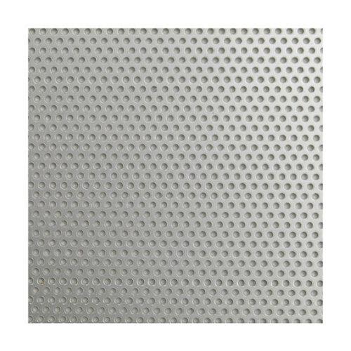 Chapa metálica de aluminio de 50x100 cm y 0.1 mm espesor