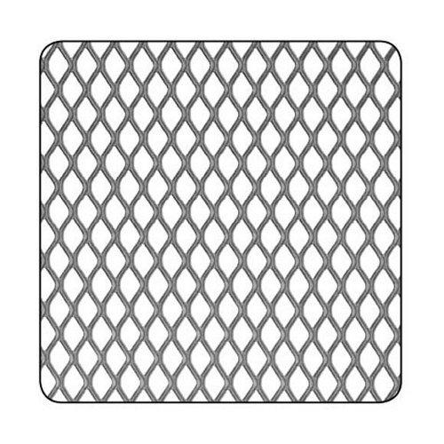 Chapa metálica de aluminio de 50x100 cm y 0.8 mm espesor