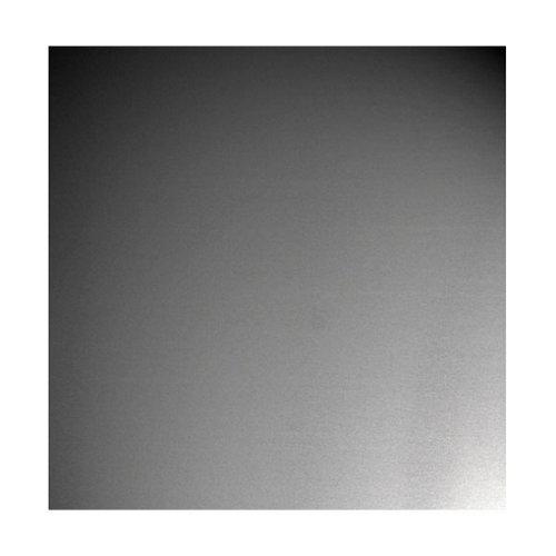Chapa metálica de aluminio de 25x50 cm y 0.1 mm espesor