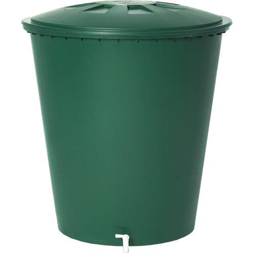 Deposito de agua redondo 310l verde