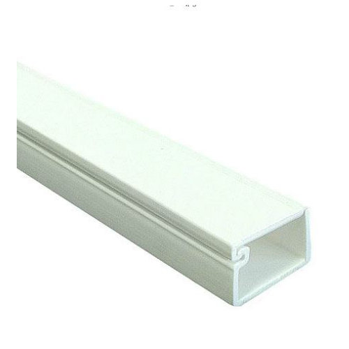 Canaleta adhesiva tehalit blanca 6x9 mm de 2 metros