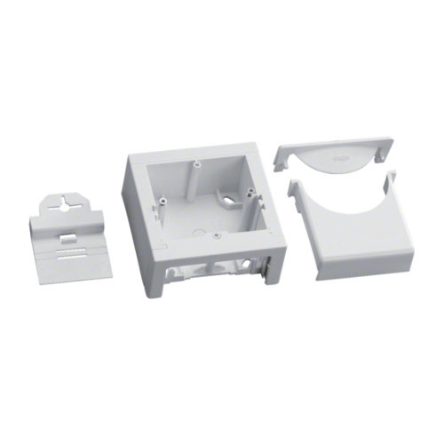 Caja de mecanismo tehlit para canaleta de 13x24 y 13x33 mm