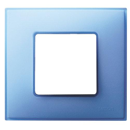 Marco individual simon 27 neos azul mate