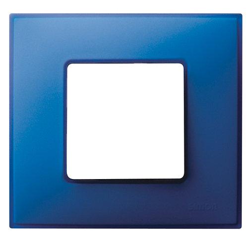 Marco individual simon 27 neos azul eléctrico