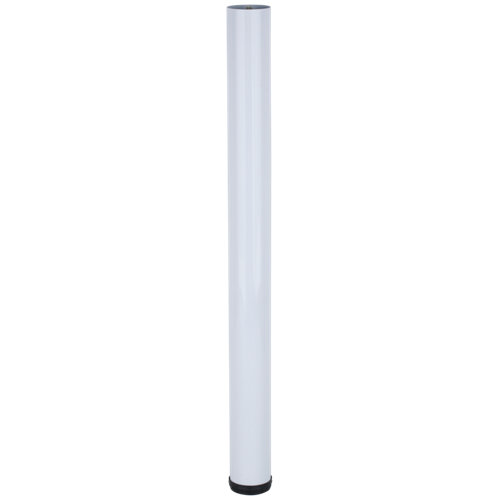 4 pata fija de acero para mesa hasta 70.3 cm