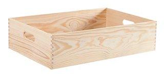 Caja De Pino De 15x60x40 Cm Y Capacidad De 36l Leroy Merlin