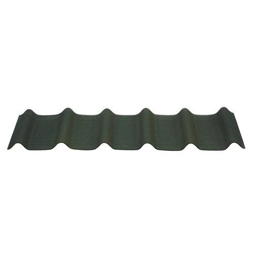 Pack 7 tejas asfálticas verde onduvilla 400x1060x2.7 mm