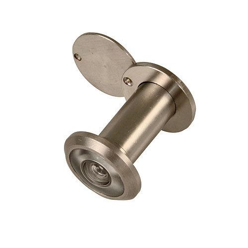 Mirilla dorada de 14 mm de ø para puertas de 35 a 60 mm