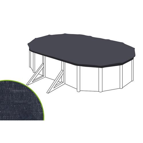 Cubierta de invierno naterial ovalada de polietileno 375x610 cm