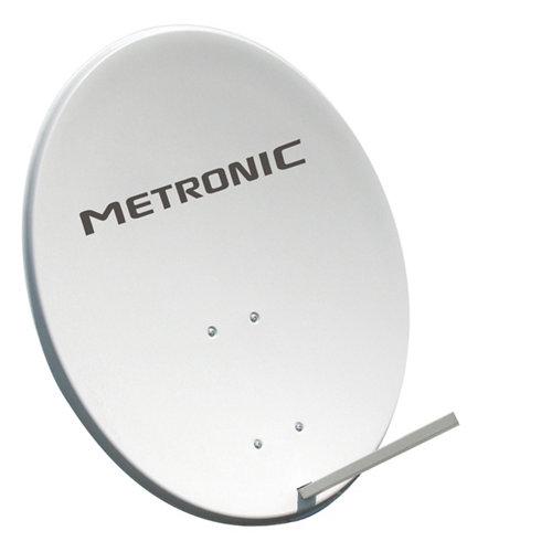 Antena parabólica metronic de 80 cm con brazo para lnb