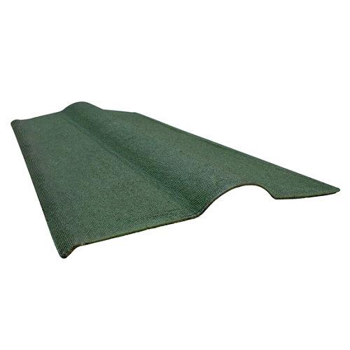 Cumbrera onduline onduvilla verde 90x50 cm