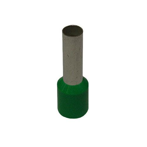 Pack de 10 punteras verdes 6/12 mm²