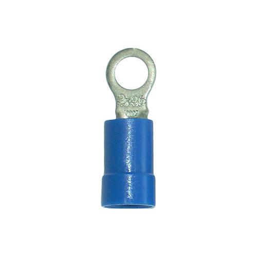 Pack de 10 terminales azules redondos 3,7/2,5 mm²