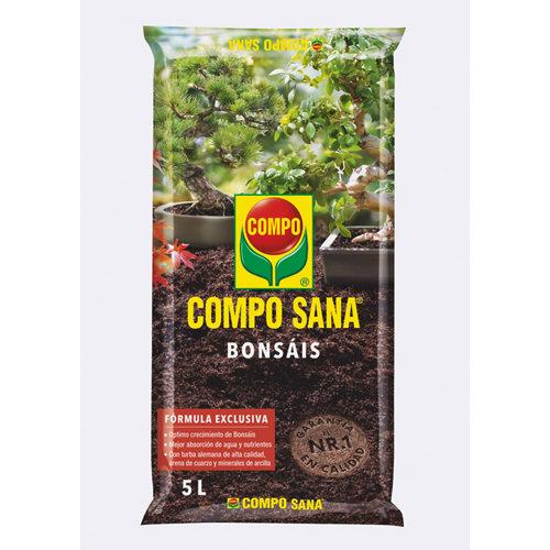 Sustrato para bonsáis compo sana 5l