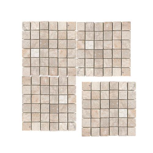 Malla piedra natural 30x30 white 5x5