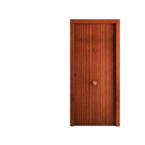Puerta de entrada blindada lisa derecha sapelly de 85,7x205 cm
