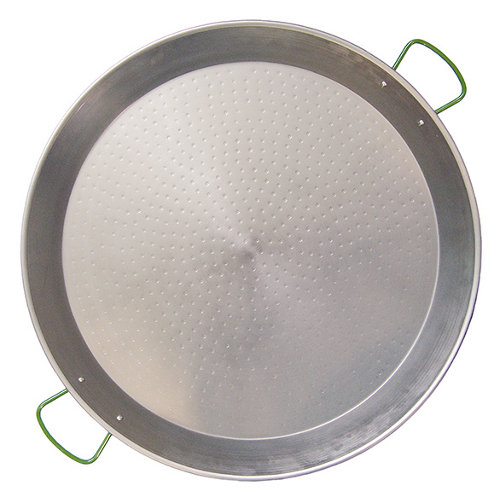 Paellero de acero 40x40 cm