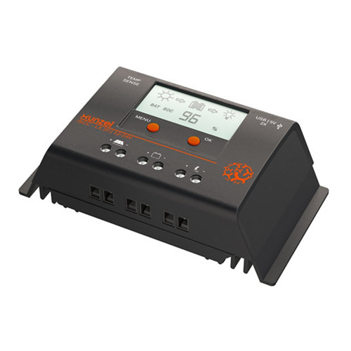 Controlador de carga y descarga solar programable iscc-xn-xunzel-20a-12/24v