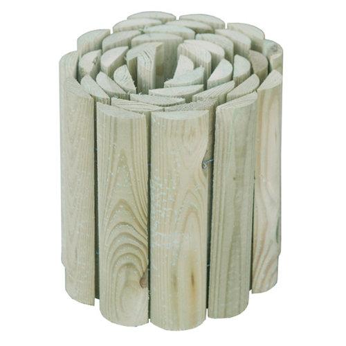 Bordura para plantar de madera 20x180 cm