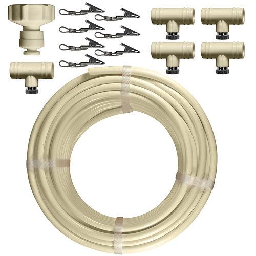 Kit nebulización jardibric 7,5 m tubería ø8 mm con nebulizadores y accesorios