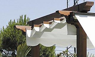 Kit Para Pergola De Acrilico Beige De 300x400 Cm Leroy Merlin