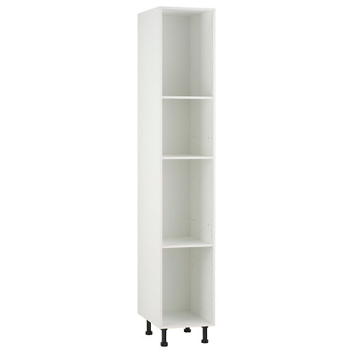 Mueble columna delinia blanco 40 x 220 x 58 cm (ancho x alto x profundo)