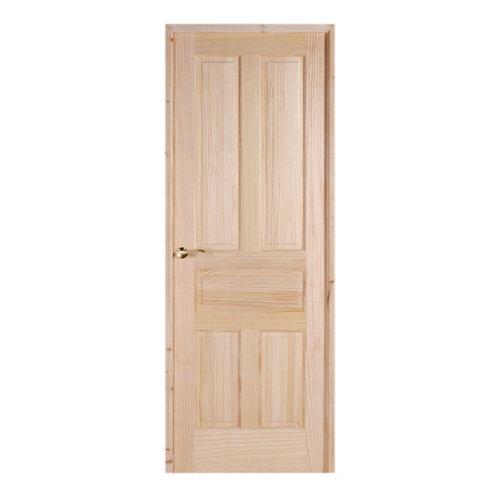 Puerta málaga pino de apertura derecha de cm