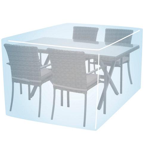 Funda de protección para mesa y sillas de polietileno 125x75x125 cm