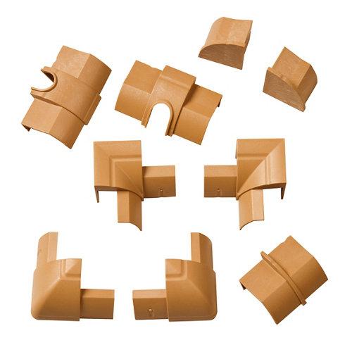 Kit de accesorios d-line madera 22x22 mm